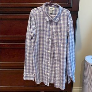 Old Navy boys long sleeve button up shirt